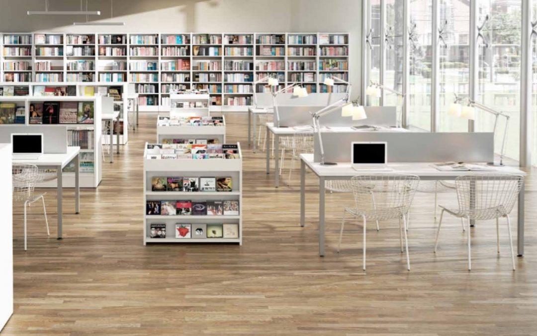 Mobiliario para Bibliotecas 2017-2018