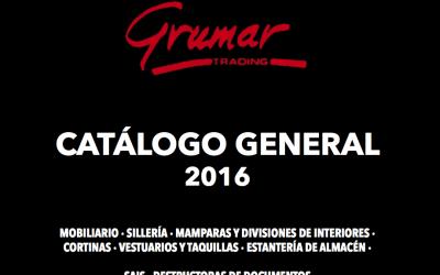 Nuevo Catálogo General – 2016