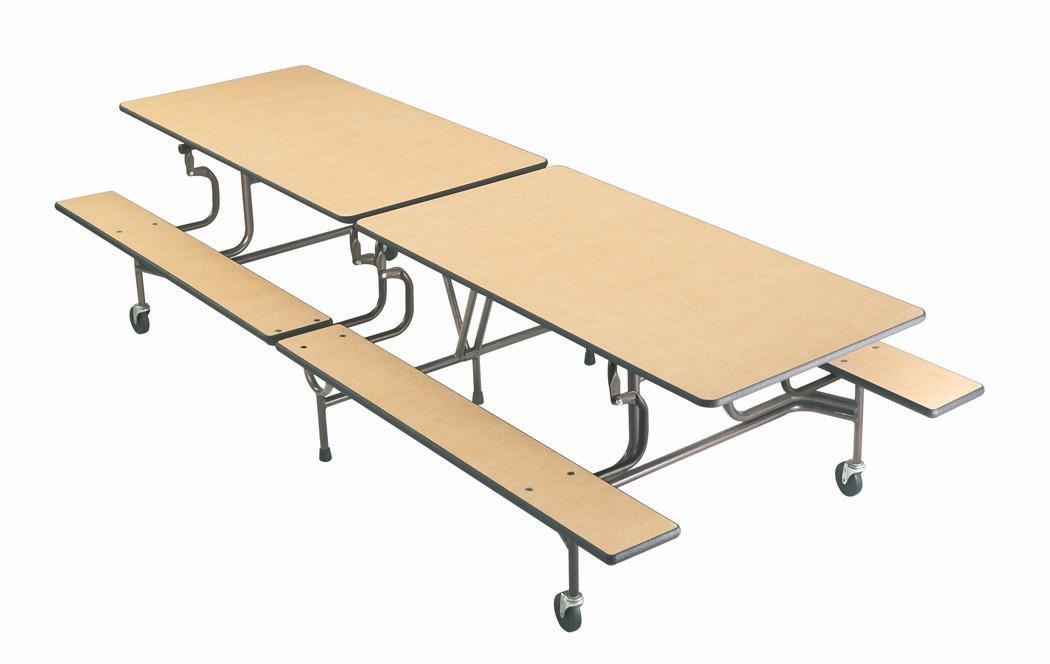 Grumar-mesa-movil-plegable-con-bancos-para-comedor-colegio - Grumar ...