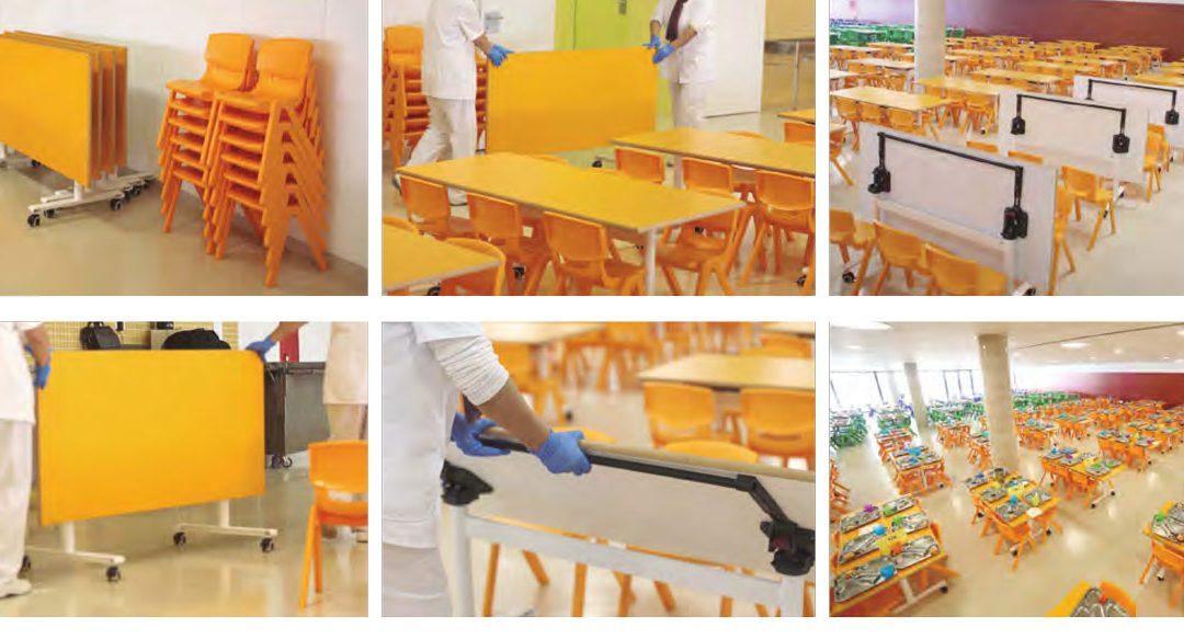 Mobiliario comedores escolares grumar trading for Empresas comedores escolares