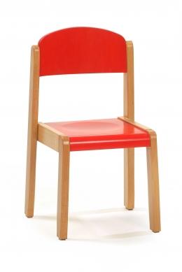 silla 4 patas madera